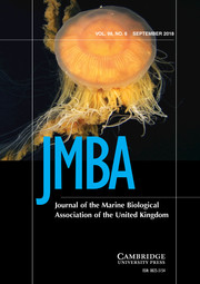 Journal of the Marine Biological Association of the United Kingdom Volume 98 - Issue 6 -