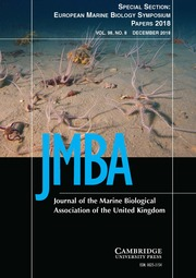 Journal of the Marine Biological Association of the United Kingdom Volume 98 - Special Issue8 -  Special Section: European Marine Biology Symposium Papers 2018