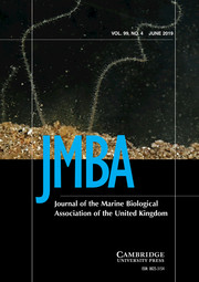 Journal of the Marine Biological Association of the United Kingdom Volume 99 - Issue 4 -
