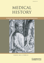 Medical History Volume 56 - Issue 4 -