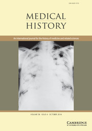 Medical History Volume 58 - Issue 4 -