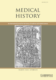Medical History Volume 59 - Issue 4 -
