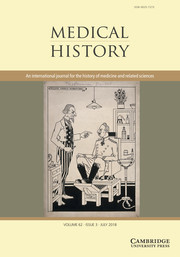 Medical History Volume 62 - Issue 3 -