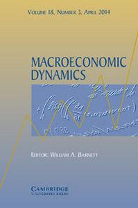 Macroeconomic Dynamics Volume 18 - Issue 3 -