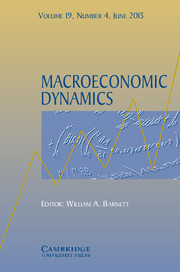 Macroeconomic Dynamics Volume 19 - Issue 4 -  Empirical Analysis of Business Cycles, Financial Markets, and Inflation: Essays in Honor of Charles Nelson