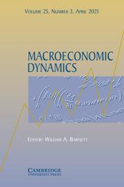 Macroeconomic Dynamics Volume 25 - Issue 3 -