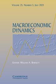 Macroeconomic Dynamics Volume 25 - Issue 5 -