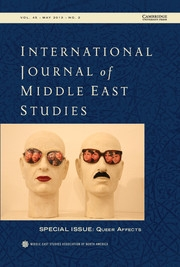 International Journal of Middle East Studies Volume 45 - Issue 2 -  Queer Affects