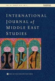 International Journal of Middle East Studies Volume 45 - Issue 3 -