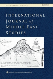 International Journal of Middle East Studies Volume 46 - Issue 1 -
