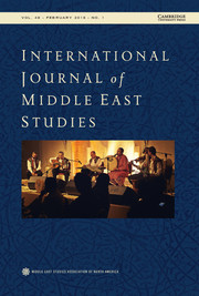 International Journal of Middle East Studies Volume 48 - Issue 1 -