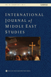 International Journal of Middle East Studies Volume 49 - Issue 3 -
