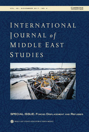 International Journal of Middle East Studies Volume 49 - Special Issue4 -  Forced Displacement and Refugees