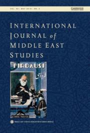 International Journal of Middle East Studies Volume 50 - Issue 2 -
