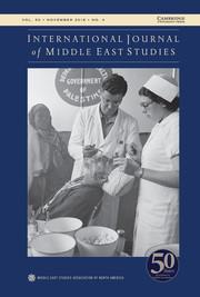 International Journal of Middle East Studies Volume 50 - Issue 4 -