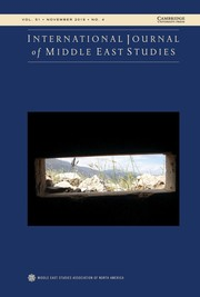 International Journal of Middle East Studies Volume 51 - Issue 4 -
