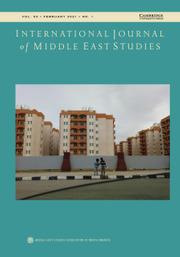 International Journal of Middle East Studies Volume 53 - Issue 1 -
