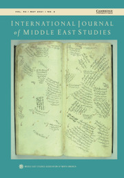International Journal of Middle East Studies Volume 53 - Issue 2 -