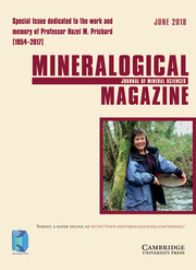 Mineralogical Magazine Volume 82 - Special Issue3 -  Special Issue dedicated to the work and memory of Professor Hazel M. Prichard (1954–2017)