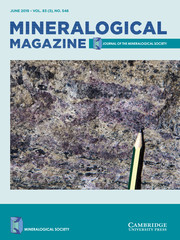 Mineralogical Magazine Volume 83 - Issue 3 -