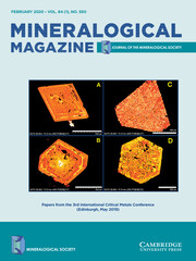 Mineralogical Magazine Volume 84 - Issue 1 -