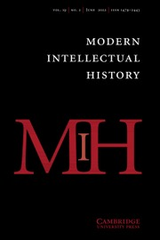 Modern Intellectual History