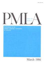 PMLA Volume 101 - Issue 2 -