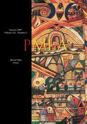 PMLA Volume 122 - Issue 1 -  Special Topics Cities