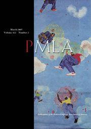 PMLA Volume 122 - Issue 2 -