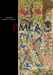 PMLA Volume 124 - Issue 2 -