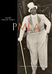PMLA Volume 124 - Issue 3 -