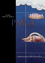 PMLA Volume 125 - Issue 3 -