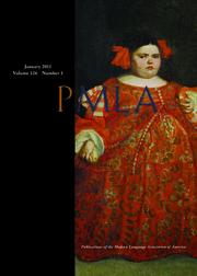 PMLA Volume 126 - Issue 1 -