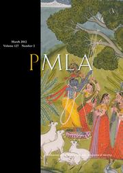 PMLA Volume 127 - Issue 2 -