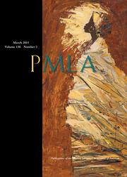 PMLA Volume 130 - Issue 2 -