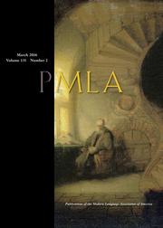 PMLA Volume 131 - Issue 2 -