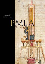 PMLA Volume 133 - Issue 2 -