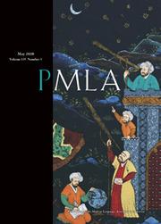 PMLA Volume 135 - Issue 3 -