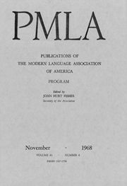 PMLA Volume 83 - Issue 6 -