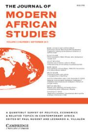 The Journal of Modern African Studies Volume 53 - Issue 3 -