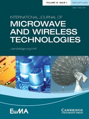 International Journal of Microwave and Wireless Technologies Volume 12 - Issue 1 -