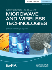 International Journal of Microwave and Wireless Technologies Volume 2 - Issue 5 -