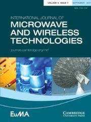 International Journal of Microwave and Wireless Technologies Volume 9 - Issue 7 -  EuCAP 2016 special issue