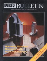 MRS Bulletin Volume 11 - Issue 5 -