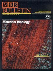 MRS Bulletin Volume 16 - Issue 10 -