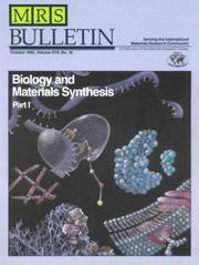 MRS Bulletin Volume 17 - Issue 10 -