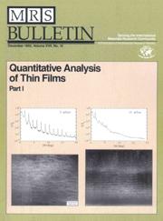 MRS Bulletin Volume 17 - Issue 12 -