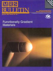 MRS Bulletin Volume 20 - Issue 1 -