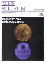 MRS Bulletin Volume 20 - Issue 10 -