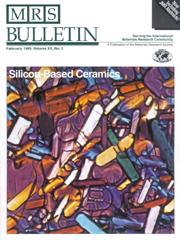 MRS Bulletin Volume 20 - Issue 2 -